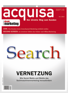 Social Search ist Feintuning, Acquisa